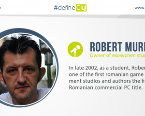 Robert Muresan, one of our first confirmed speakers